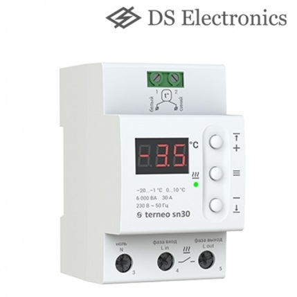 Термостаты снеготаяния DS ELECTRONICS